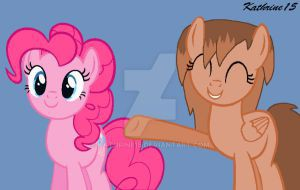 mlp___kathrine_with_pinkie_pie_by_kathrine15-d8nf4mo